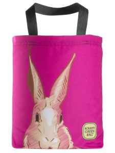 American-made-eco-friendly-tote-bag-pink-bunny-rabbit-hare-cute-easter