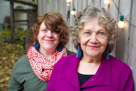 Nora Norby and Rachel Wallner