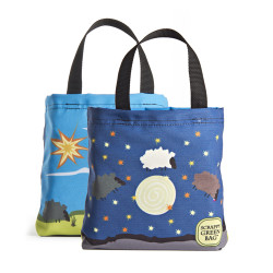 Day sheep night sheep kid tote bag