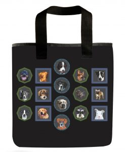 All the Dogs Grocery Bag