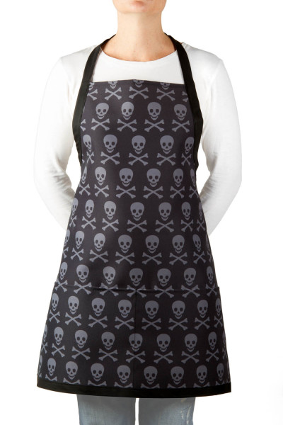 apron-eco-skull-and-crossbones-jolly-roger-men-women-gray-black