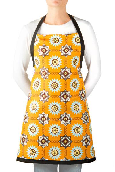 apron-eco-the-lynn-design-southwest-sun-washable-orange-blue-brown
