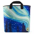 Northern-Lights-Aurora Borealis Grocery Bag