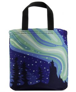 The Aurora Northen Lights Mini Tote