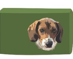Beagle Dog Utility Bag