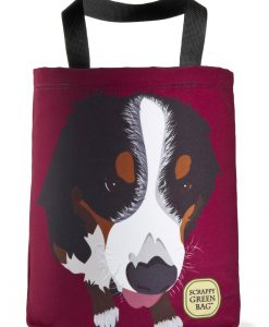 bernese-mountan-dog-tote