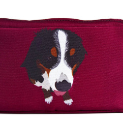 bermese-mountain-dog--dogs-utility-bag-maroon-american-made-eco-friendly