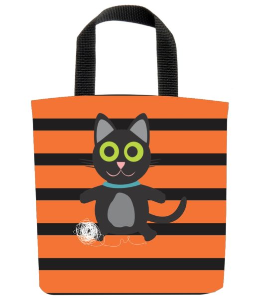 black-kitty-cat-feline-stripes-yarn-ball-eco-kids-tote-bag