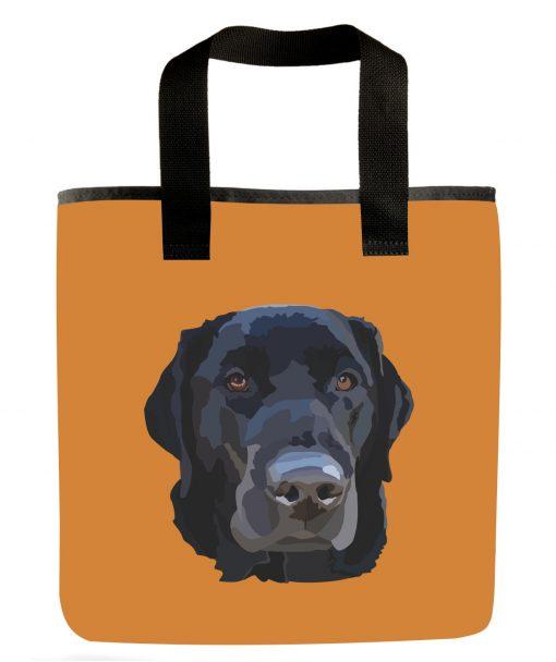 black-labrador-retriever-large-breed-dog-grocery-bag