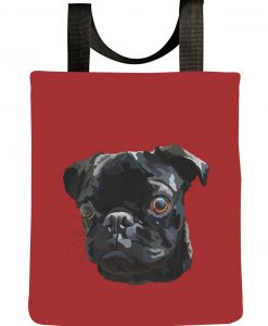 black-pug-tote-bag