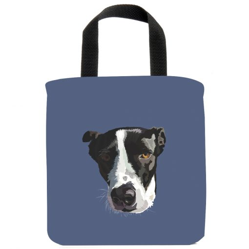 border-collie-lab-labrador-mix-dog-dogs-mini-tote-bags