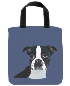 Boston Terrior Mini Tote Bag