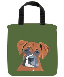 The Boxer Dog Mini Tote