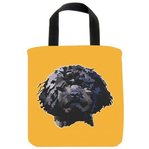 cockapoo-black-dog-small-breeds-mini-tote-bag