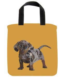 Dapple Dachshund Mini Tote Bag