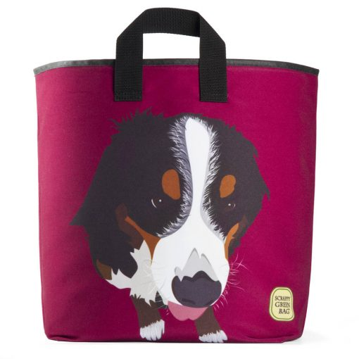 dog-bernese-mountain-dog-lovers-purple-american-made-ecofriendly-machine-washable-sustainable