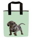 dachshund dog grocery bag