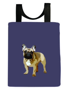 dog-french-bulldog-dusty-blue-frenchie-recycled-reuseable-tote-bag-washable