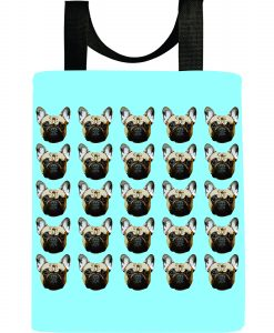 dog-french-bulldog-light-blue-frenchie-recycled-reuseable-tote-bag-washable