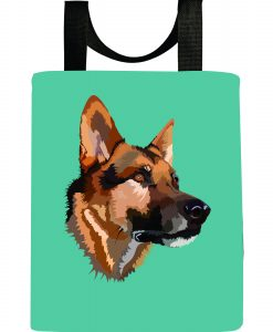 dog-german-shepard-handsome-boy-washable-recycled-reuseable-tote-bag