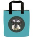Mini Schnauzer Grocery Bag