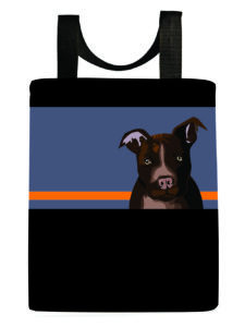 dog-pitt-bull-brown-washable-recycled-reuseable-tote-bag