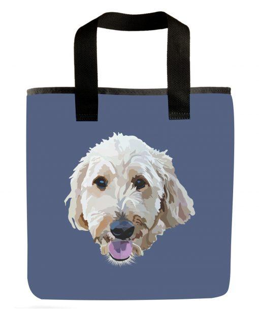 golden-doodle-dog-breed-hypoalergenic-market-bag