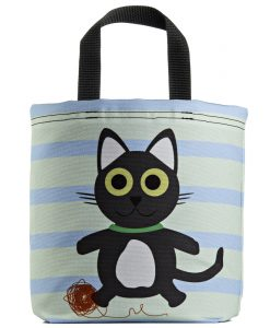 kitty-cat-kids-tote-gray