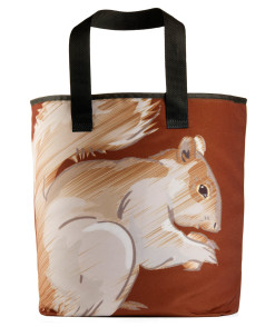 the squirrel grocery bag 27 inch handles