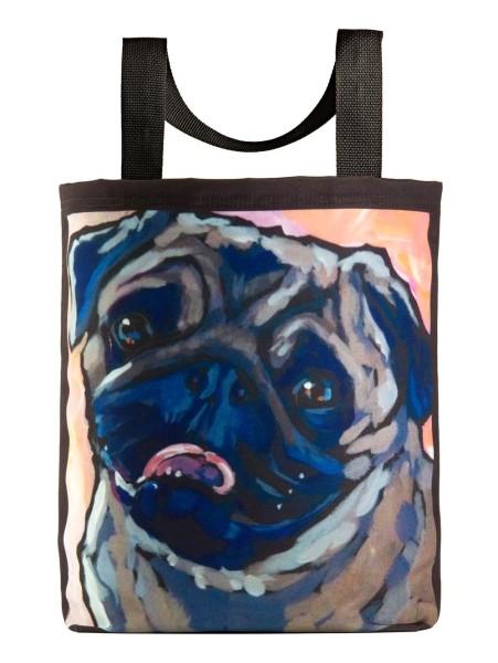 kat-corrigan-tote-bag-eco-pug-dog-canine-artist-series