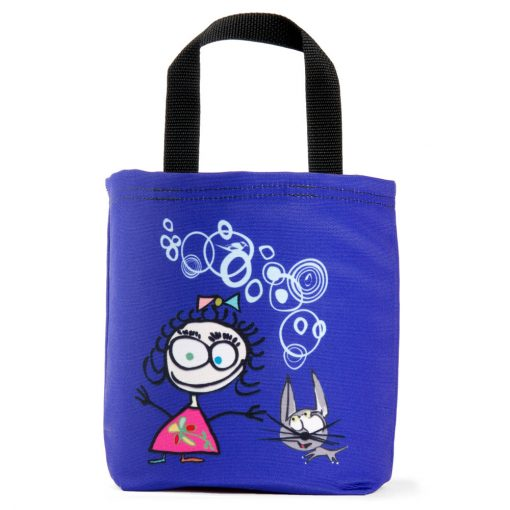 kids-tote-bag-cats-birds-girls-boys-cartoon-purple-ecofriendly-american-made-machine-washable-
