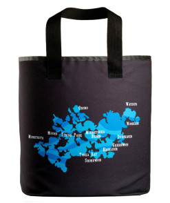 Lake Minnetonka bays grocery bag