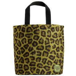 leopard mini tote