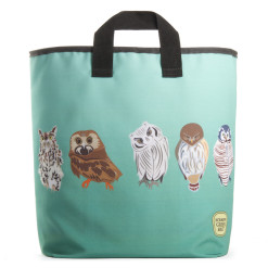 Owls Grocery Bag