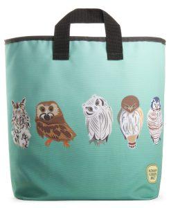 Owls Grocery Bag