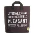 Black Lyndale Grocery Bag