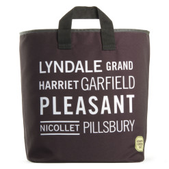 Black Lyndale Grocery Bag