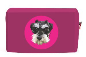 pinky-mini-schnauzer-utility-bag