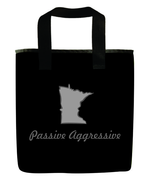 minnesota-black-gray-grocery-bag-eco-friendly-recycled-material-passive-aggressive-washable
