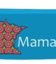 Minnesota Mama Utility Bag in blue