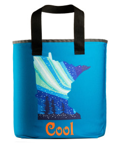 Minnesota cool grocery bag with 27 inch handles.