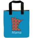 Minnesota Mama Grocery Bag in Blue