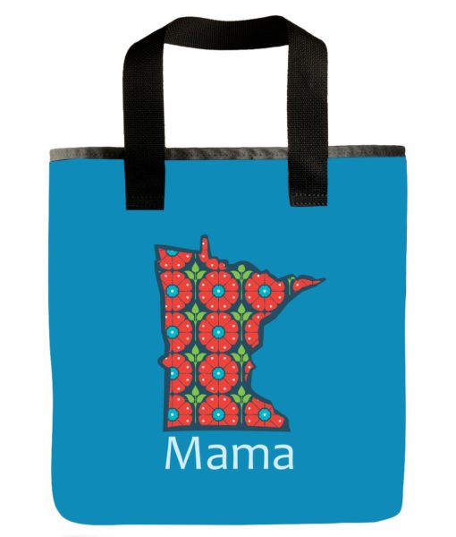 minnesota-state-icon-mama-blue-market-bag-eco-goods-scrappy-products-grocery-bag
