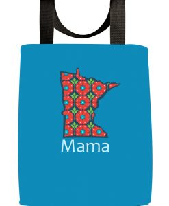 Minnesota Mama Blue Tote Bag