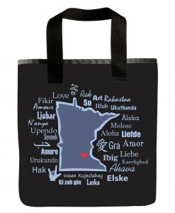 Minnesota One Love Grocery Bag