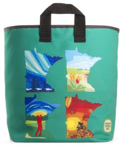 Minnesota Four Seasons Grocery Bag