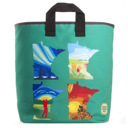 Minnesota Four Seasons Grocery Bag