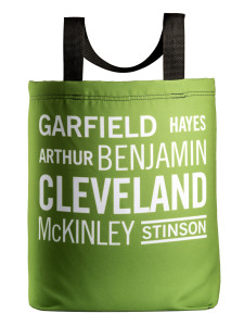 the Cleveland tote with 27 inch handles