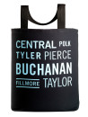 the central ave tote bag wiht 27 inch handles