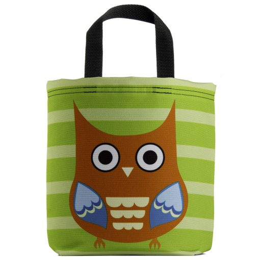 owl-raptor-stripes-orange-blue-green-eco-kids-tote-bag